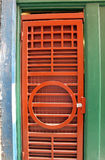 Ornamental Red Door Stock Images