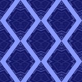 Ornamental rhombus seamless pattern Royalty Free Stock Photography