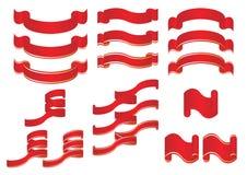 Ornamental ribbons Royalty Free Stock Photo