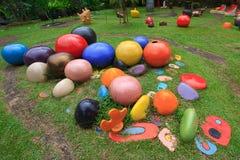 Ornamental rock gardens. Stock Photography
