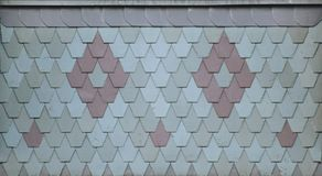 Ornamental Roof Tiles Royalty Free Stock Photo