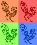 Ornamental rooster Royalty Free Stock Photography
