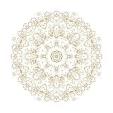 Ornamental  rosette d in arabic style Stock Photography