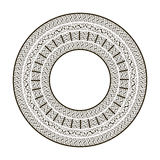 Ornamental round frame Royalty Free Stock Images