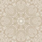 Ornamental round lace background Royalty Free Stock Photos