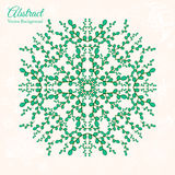 Ornamental round lace background with many details Royalty Free Stock Photo