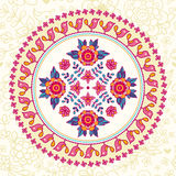 Ornamental round lace. Ethnic seamless pattern. Stock Photos