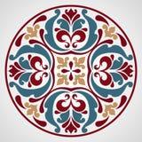 Ornamental round lace. Stock Photos