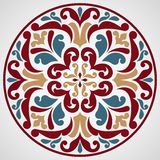 Ornamental round lace. Royalty Free Stock Photos
