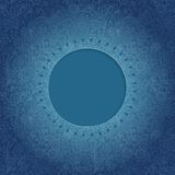 Ornamental round lace frame. Background for celebrations, holida Royalty Free Stock Images