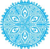 Ornamental round lace pattern Stock Image