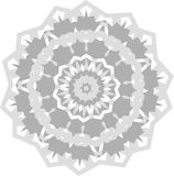 Ornamental round lace pattern. Abstract ornament. Orient traditional ornament Stock Photos