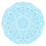 Ornamental round lace pattern, circle background with many detai Stock Photography