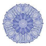 Ornamental round lace pattern Stock Photos