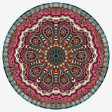 Ornamental round lace Royalty Free Stock Photography