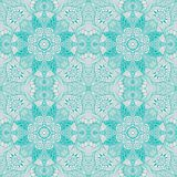 Ornamental round lace Royalty Free Stock Image