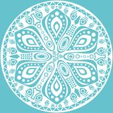 Ornamental round lace Stock Photography