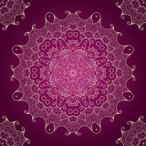Ornamental round lace pattern Royalty Free Stock Photo