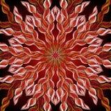 Ornamental round lace pattern, circle background with many details, ornate mandala style. Royalty Free Stock Image