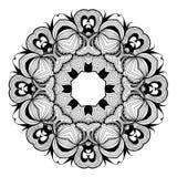 Ornamental round lace pattern is like mandala_1 Stock Photography