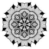 Ornamental round lace pattern is like mandala Stock Images