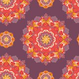 Ornamental round lace pattern. vector Royalty Free Stock Photography