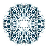 Ornamental round lace pattern. Vector illustration Stock Photo