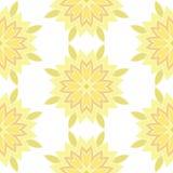 Ornamental round lace seamless pattern. Stock Photos