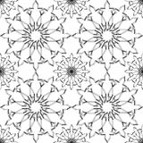 Ornamental round morocco seamless pattern. Orient traditional ornament. Oriental motif. Stock Images