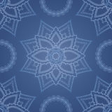 Ornamental round morocco seamless pattern. Stock Images