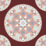 Ornamental round for paisley. Stock Photos