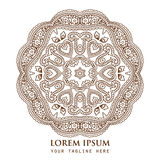 Ornamental round paisley pattern Stock Images