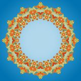 Ornamental round pattern Royalty Free Stock Image