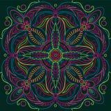 Ornamental_round_pattern Imagem de Stock