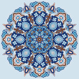 Ornamental round pattern Royalty Free Stock Images