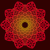 Ornamental round pattern, decoration Royalty Free Stock Images
