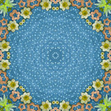 Ornamental round pattern Stock Photos