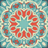 Ornamental round pattern Stock Photography