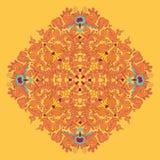 Ornamental round seamless lace pattern. Ornamental round floral lace pattern. kaleidoscopic floral pattern, mandala. Stock Photos