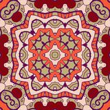 Ornamental round seamless pattern with many Stock Images