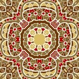Ornamental round seamless pattern with many Royalty Free Stock Photos