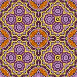 Ornamental round seamless pattern with many Stock Photos