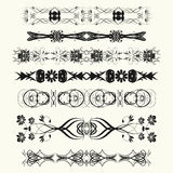 Ornamental Rule Lines Stock Photography