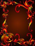 Ornamental Scary halloween Royalty Free Stock Image