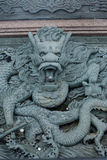 Ornamental sculpture dragon in Malaysia Royalty Free Stock Images