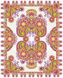 Ornamental Seamless Carpet Design Royalty Free Stock Photos