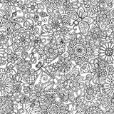 Ornamental seamless ethnic pattern. Can be used for wallpaper, pattern fills, textile, fabric, wrapping, surface textures. Ornamental seamless ethnic pattern Royalty Free Stock Photography