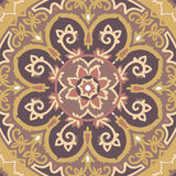 Ornamental seamless ethnicity pattern Stock Images
