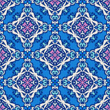 Ornamental seamless  flourish Stock Images