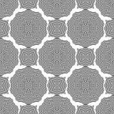 Ornamental Seamless Line Pattern Royalty Free Stock Image